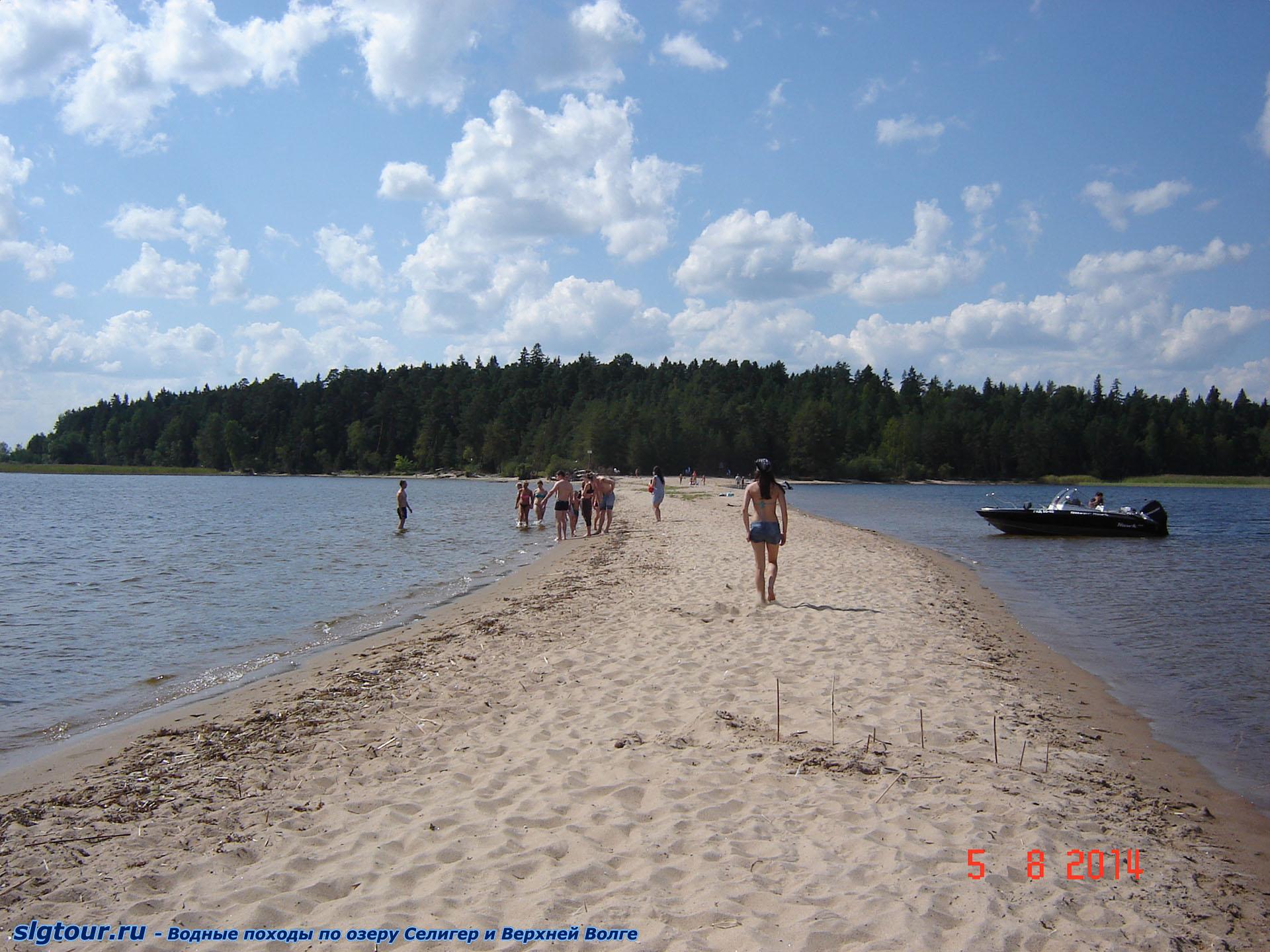 Селигер фото на пляже